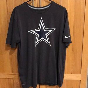 Nike Dallas Cowboys Dri-Fit NWOT men's XL